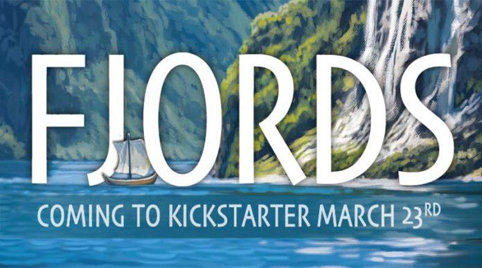 Logotipo del juego de mesa Fjords