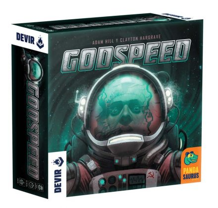 Caja del juego Godspeed de Devir