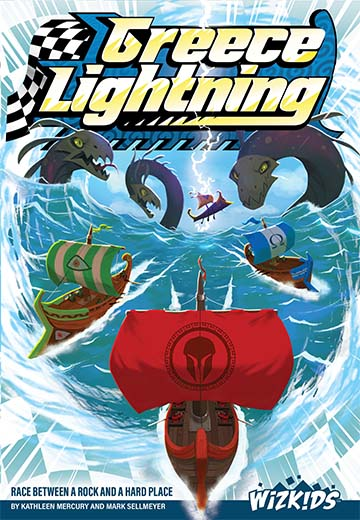 Portada de Greece Lightning