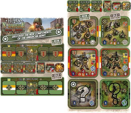 Nuevos componentes de Heroes of Normandie: Big Red One Edition