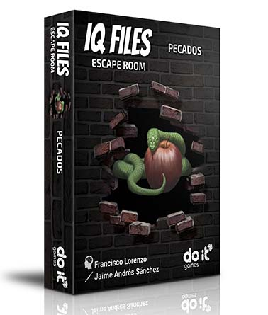 Portada de IQ Files Pecados
