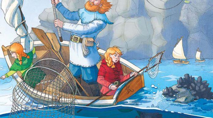 Detalle de la portada de Keyper at sea