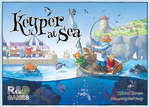 Portada de Keyper at sea