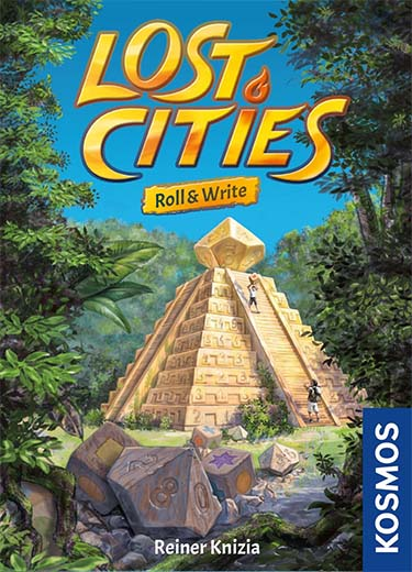 Portada de Lost Cities Roll and Write