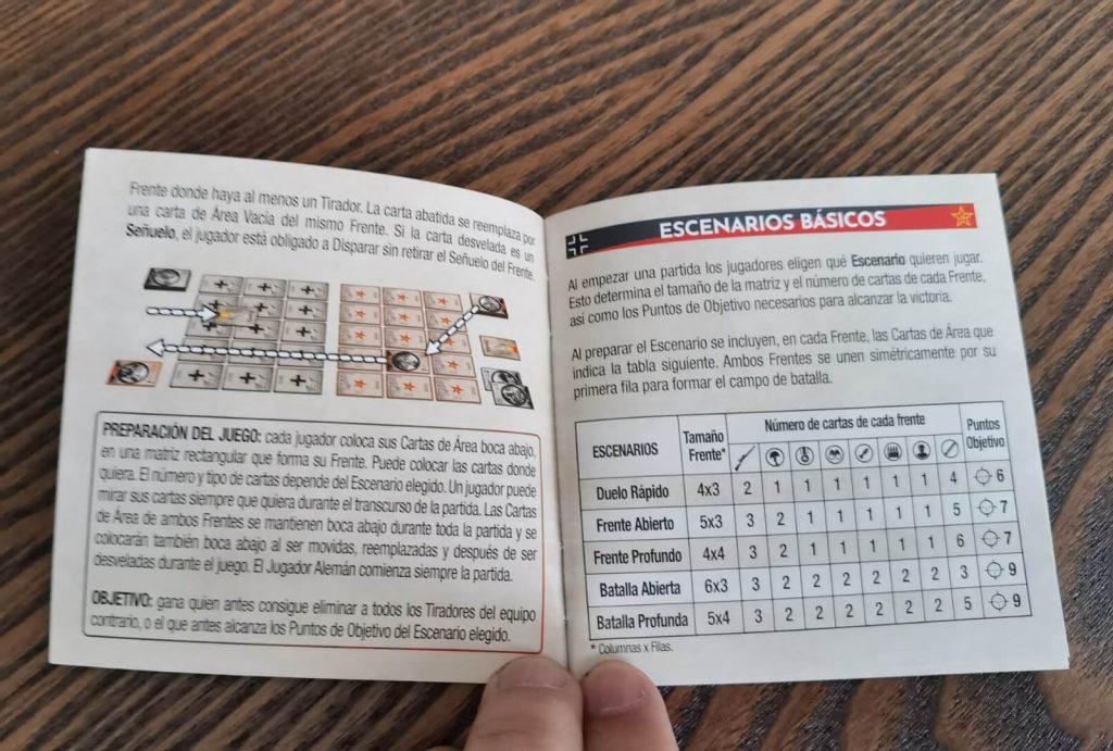 Manual del juego Scope
