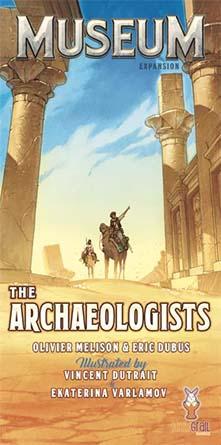 Portada de la expansión de Museum Los arqueólogos