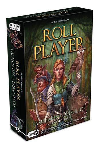 Portada de Roll Player Diablillos y familiares