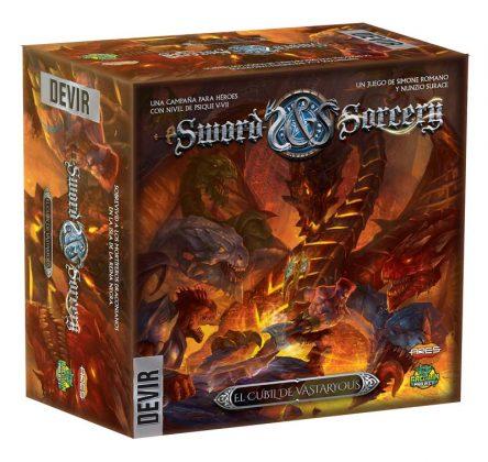 Caja de la expansión Sword & Sorcery Vastaryous de Devir