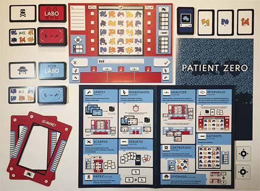 Componentes de Save Patient Zero