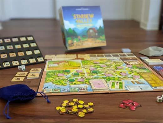 Componentes de Stardew Valley The Boardgame