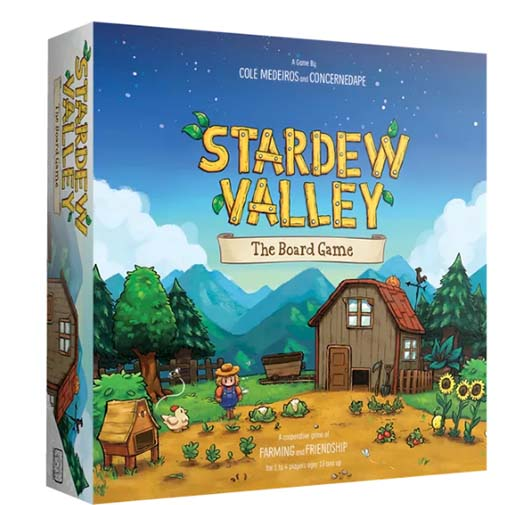 Portada de Stardew Valley The Board Game