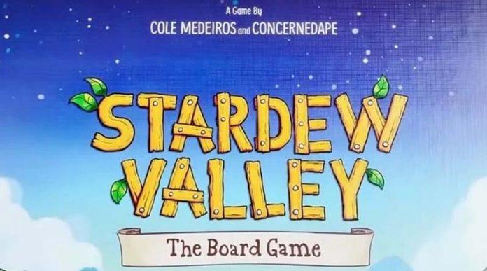 Logotipo de Stardew Valley The Boardgame