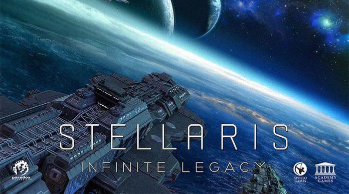 Logotipo de Stellaris Infinite Legacy