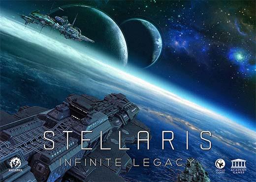 Portada de Stellaris Infinite Legacy