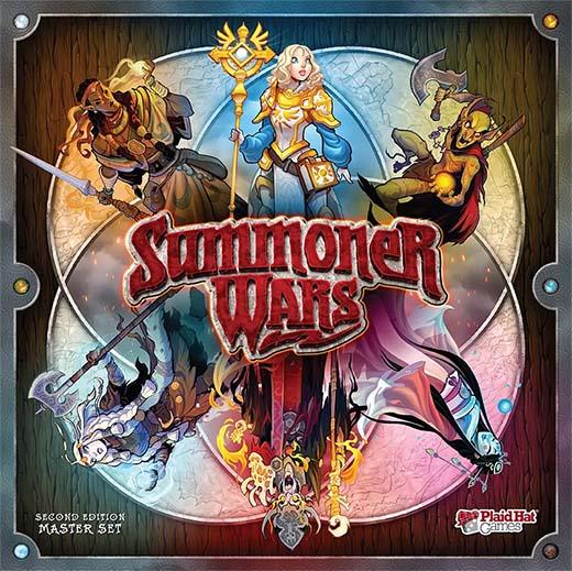Portada de summoner wars segunda edición
