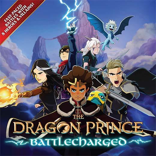 Portada de The Dragon Prince Battlecharged