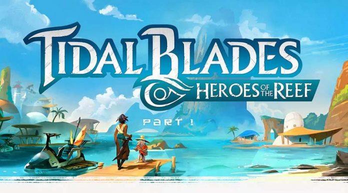 Logotipo de Tidal Blades