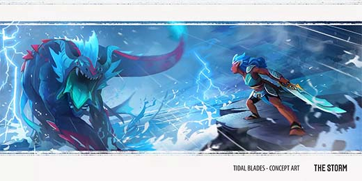 Concept art de Tidal Blades