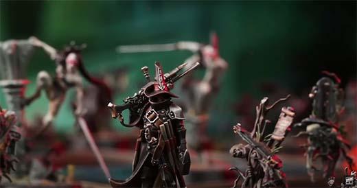 Miniatura de Jelsen Darrock para Warhammer Quest: Cursed City