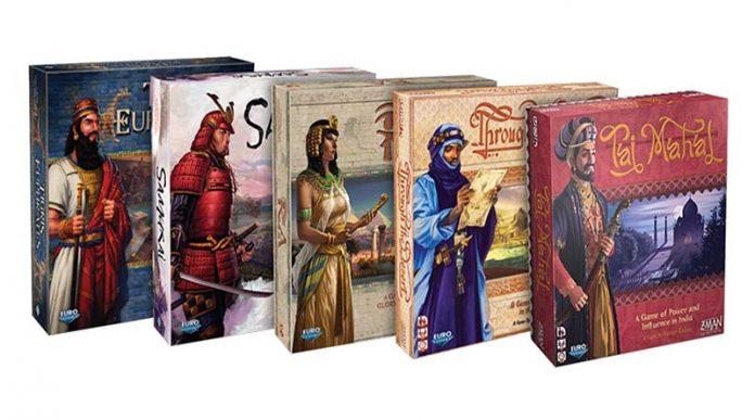 Linea de Eurogames clásicos de Z-Man Games