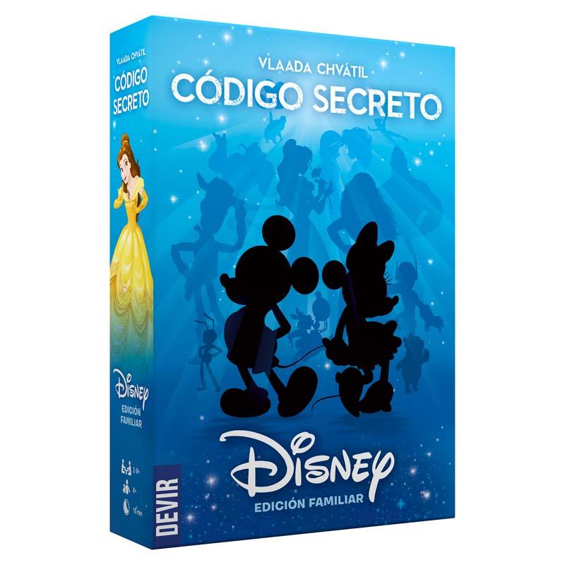 Caja del juego Código Secreto, Disney de Devir