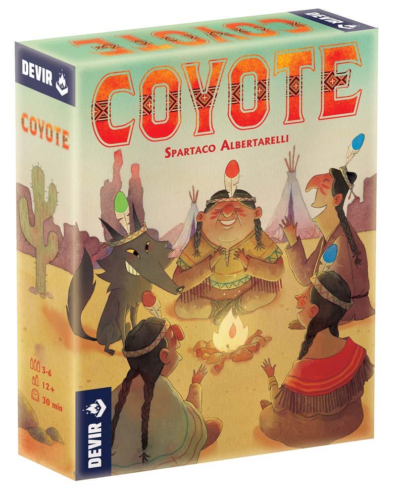 Juego Coyote de Devir