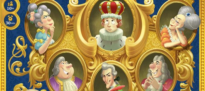Detalle de la portada de For the King (and Me)
