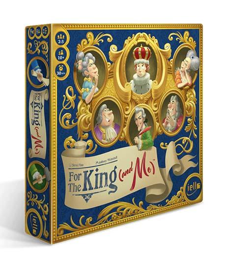 Portada de For the King (and Me)