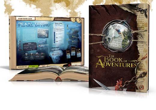 Portada de la expansión Books of adventures de Robinson Crusoe Collector's edition