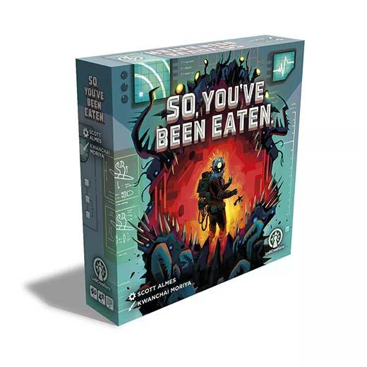Portada de So, You've been eaten