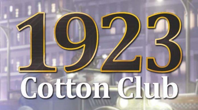 Logotipo de 1923 Cotton Club