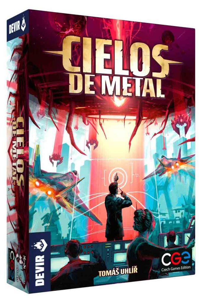Caja del juego Cielos de Metal