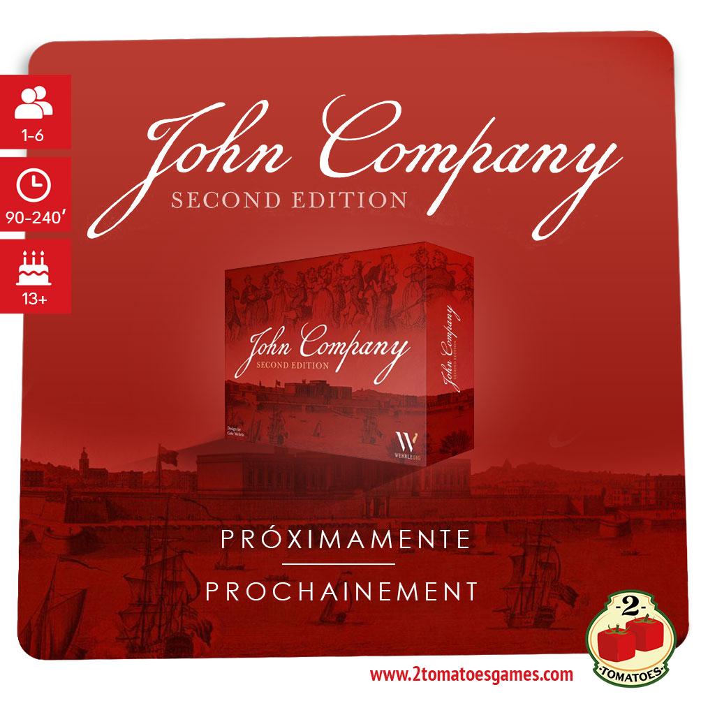 Caja del juego John Company Segunda Edición