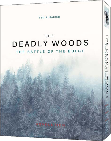 Caja del juego The Deadly Woods: The Battle of the Bulge