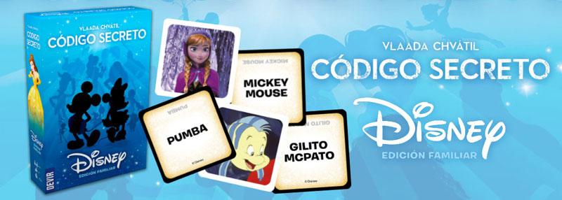Contenido Código Secreto Disney
