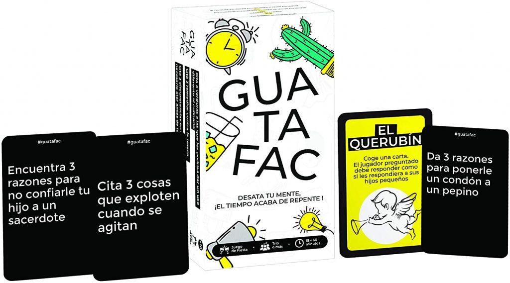 Contenido del juego Guatafac