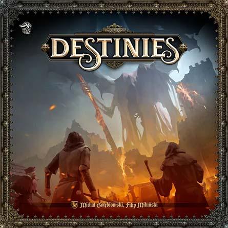 Portada de Time of Legends Destinies