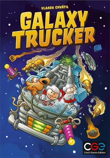 Portada de Galaxy Trucker 2021