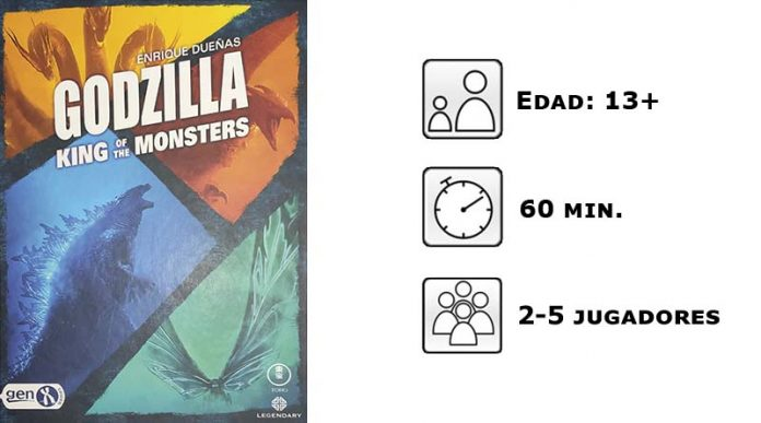 Datos de Godzilla king of the monsters