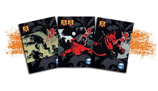Cartas de Hellboy the dice game