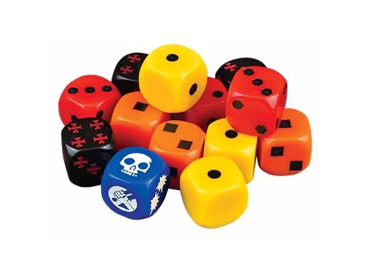 Dados de Hellboy the dice game