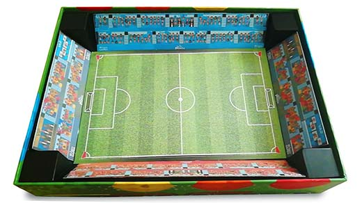 Caja estadio de king of the pitch