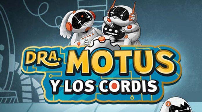 Logotipo de la Dra. Motus y los Cordis