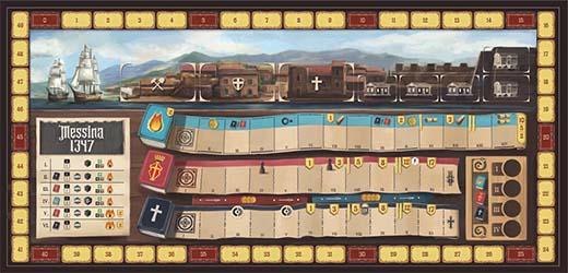 Tablero del jugador de Messina 1347