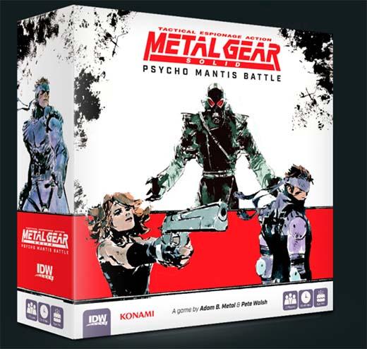 Portada de Metal Gear Solid: Psycho Mantis Battle
