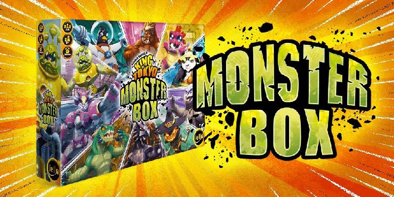 Imagen de Monster Box de King of Tokyo