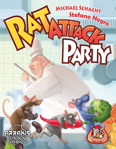 Portada de Rat Attack Party