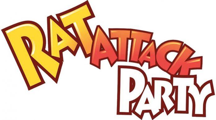 Logotipo de Rat Attack Party Logo