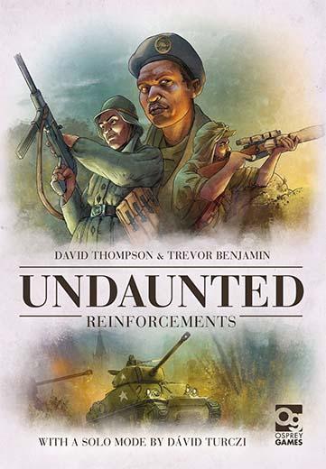 Portada de Undaunted: Reinforcements