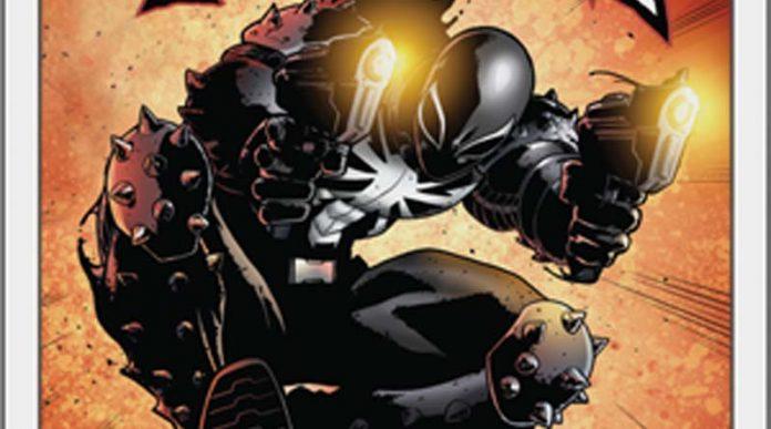 Detalle de la portada de Venom Hero Pack de Marvel: Champion LCG